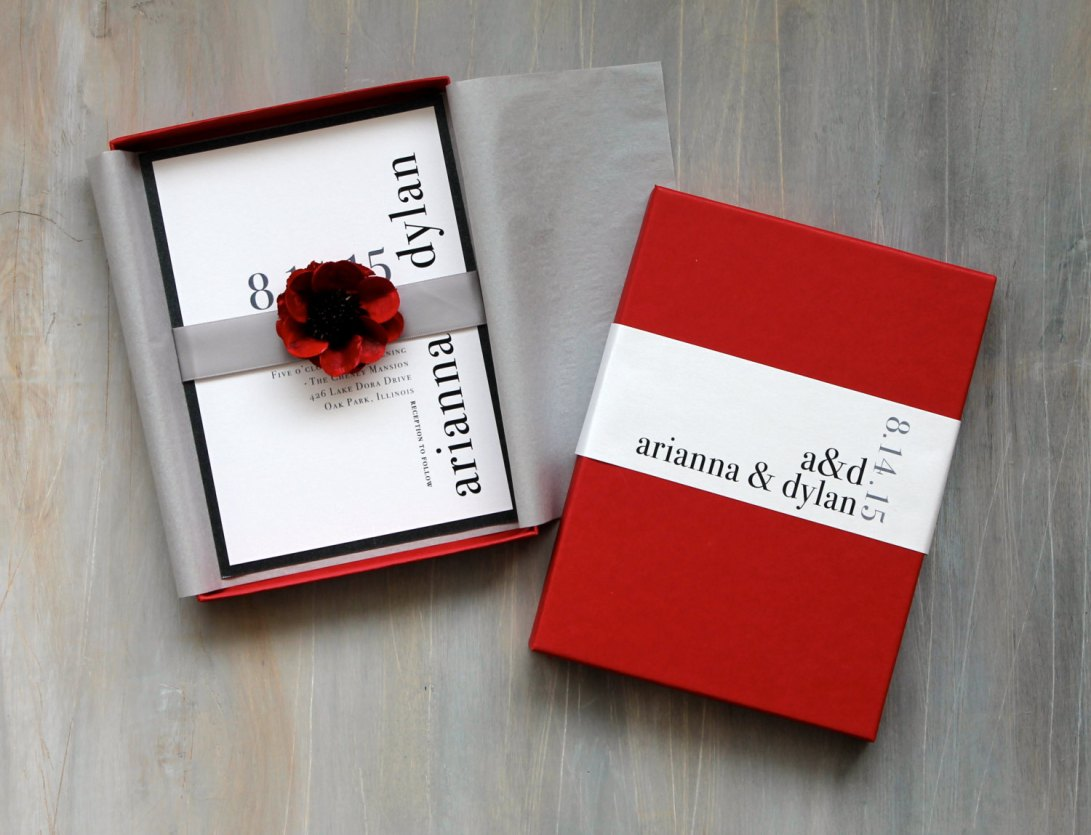 Luxury wedding invitation card packaging – tianyagiftboxes